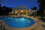 Villa Valeria Night Pool Shot
