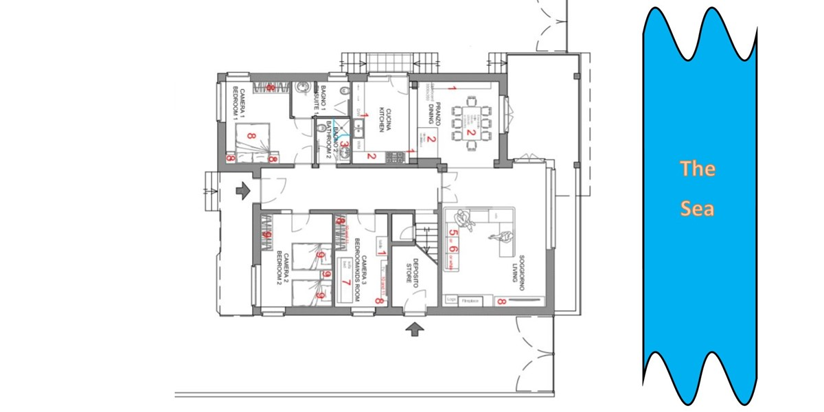 Ground Floor Plan Sabbia