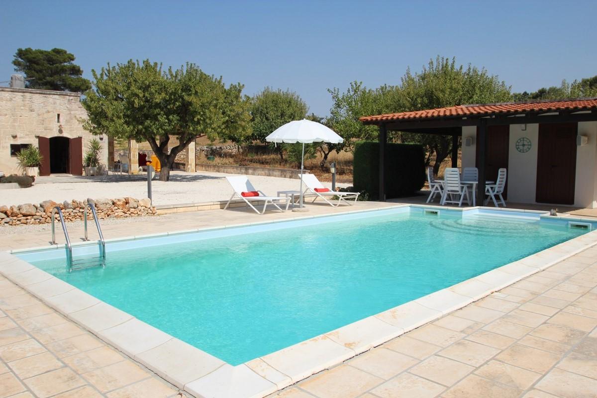Settimo Cielo Pool To House View