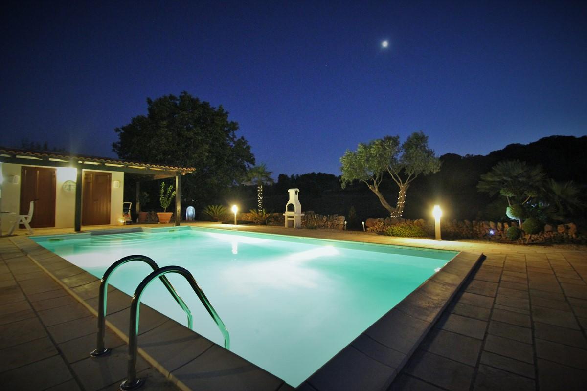 Settimo Cielo Pool At Night 2