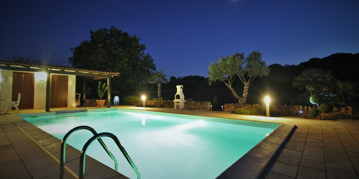 Settimo Cielo Pool At Night 2