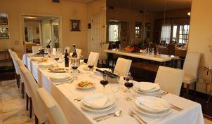 Villa Palmera Dining Room