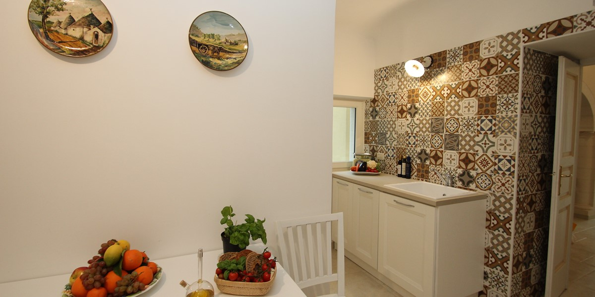 Villa Valeria Kitchen 1A