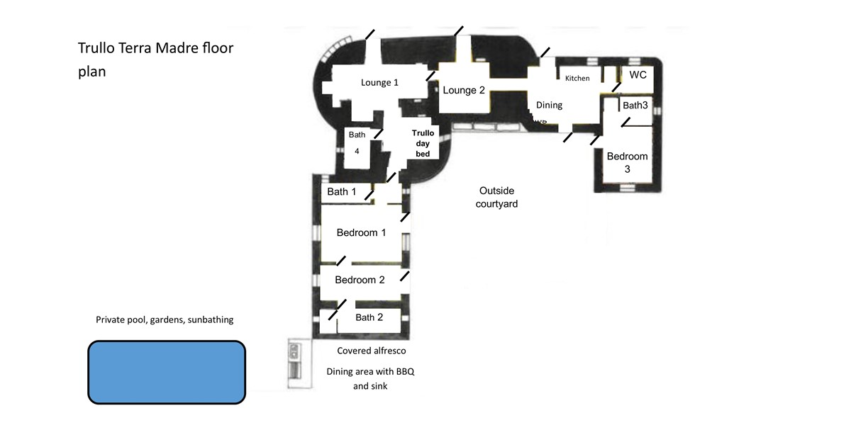 Terre Madre Floor Plan 1