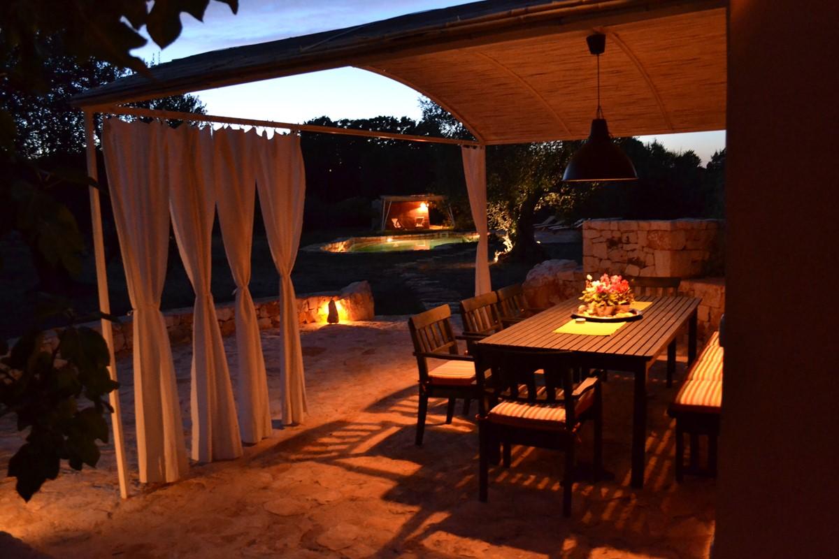 Terra Madre Dining At Night