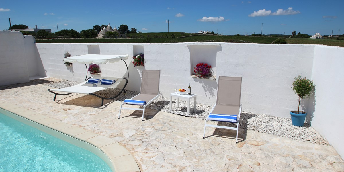 Trullo Il Grano Pool 2