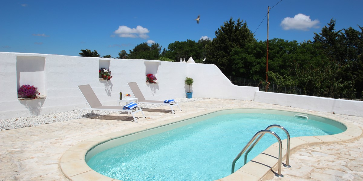 Trullo Il Grano Pool 4