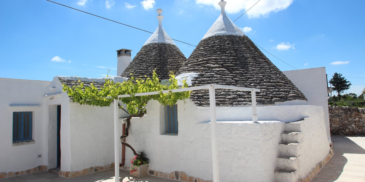 Trullo Il Grano Welcome