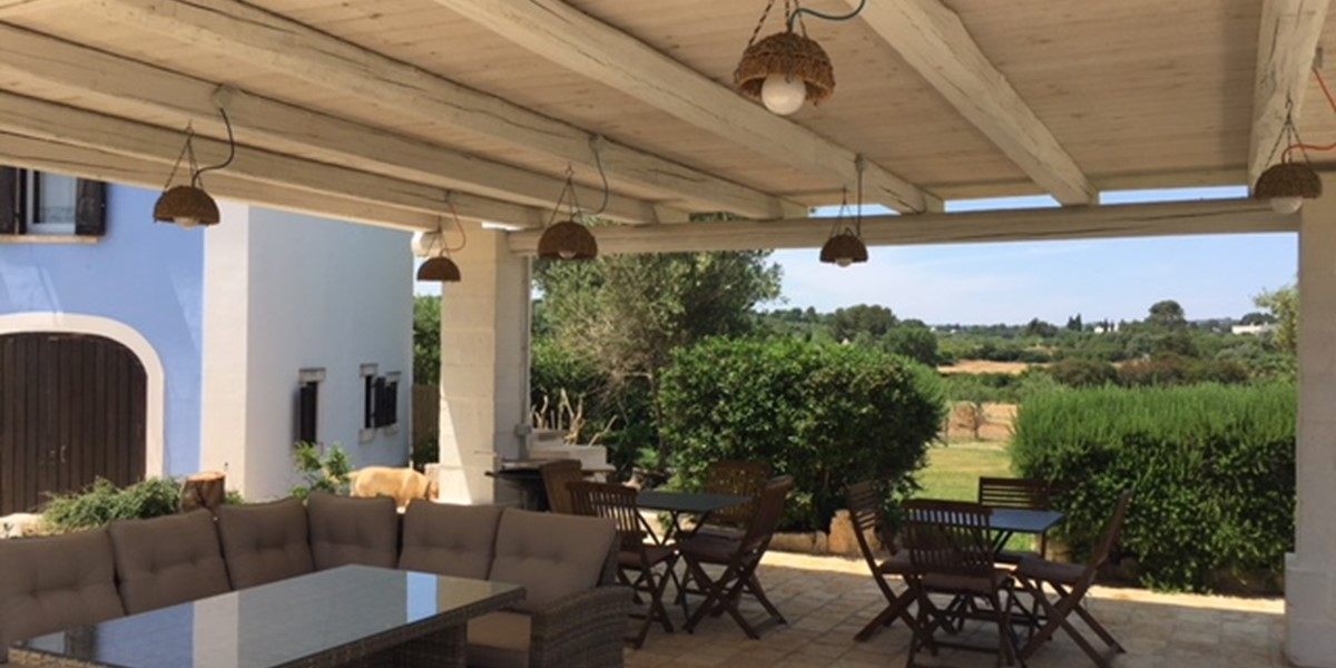 Masseria Sessana Gazebo Chairs