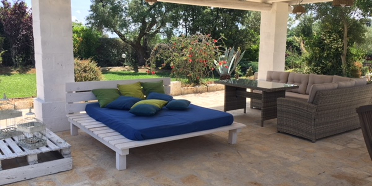 Masseria Sessana Gazebo Seating