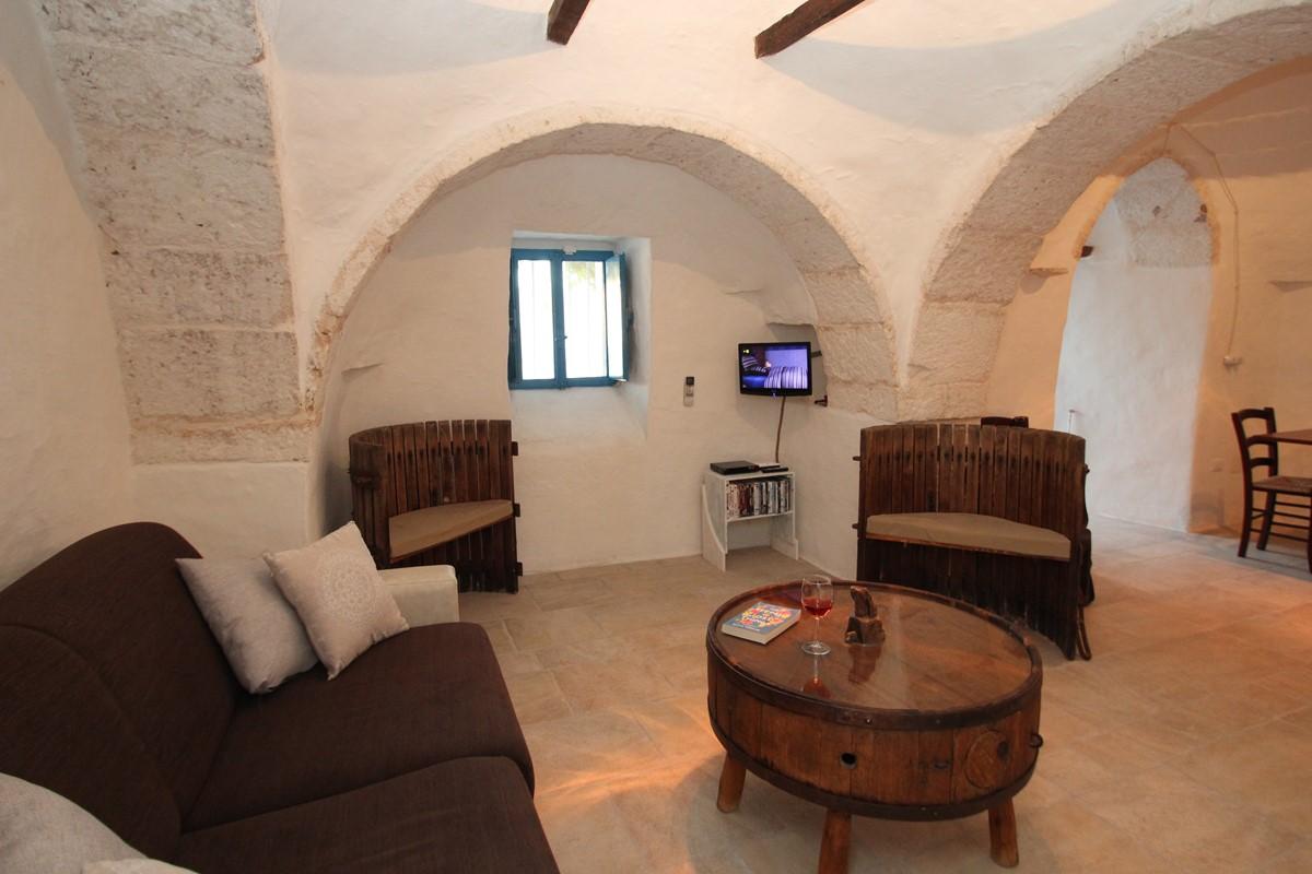 Trullo Il Grano Lounge 1