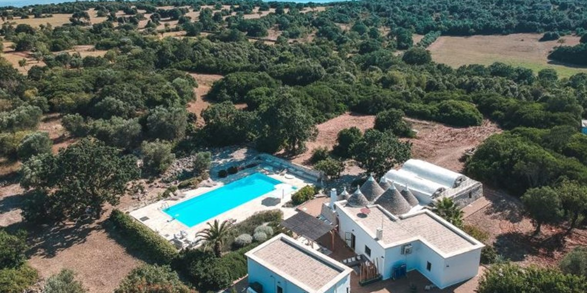Trullo Amore Aerial View