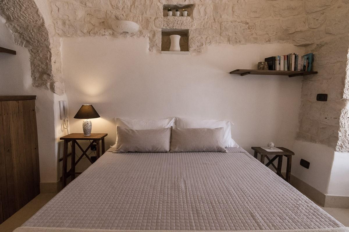 Trullo Loco Bedroom 2 Pic 2
