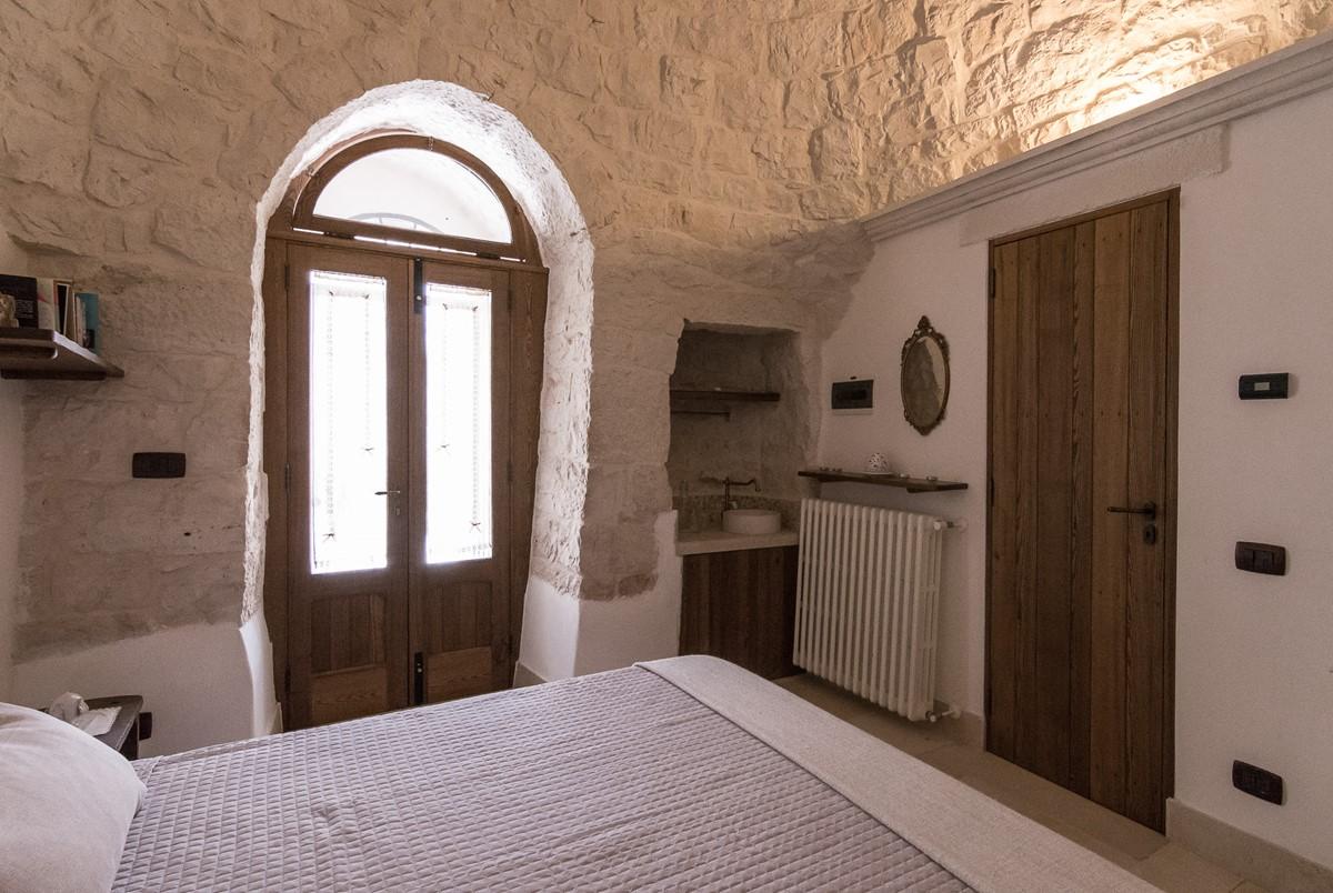 Trullo Loco Bedroom 2 View To Door