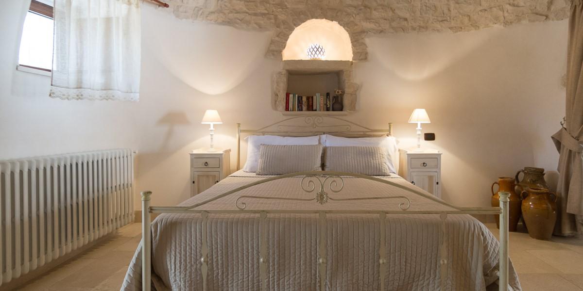 Trullo Loco Comfortable Bed