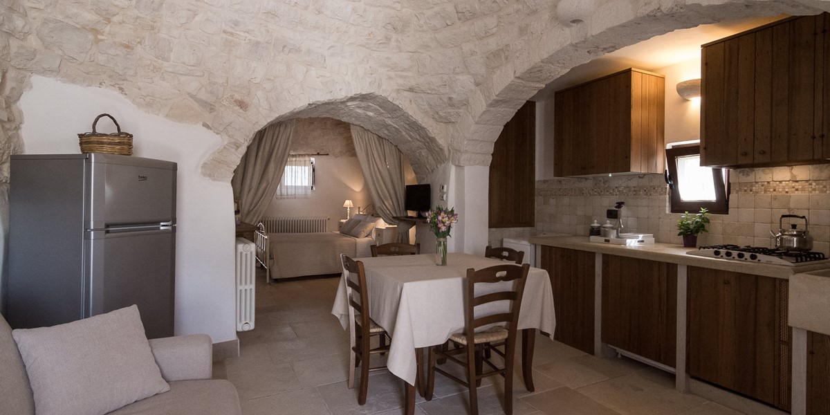 Trullo Loco Living Space