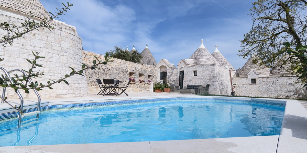 Trullo Loco Private Pool