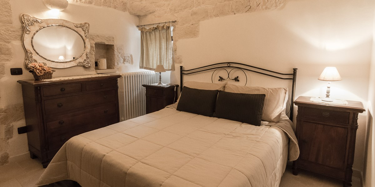 Trullo Mandorla Bedroom 2