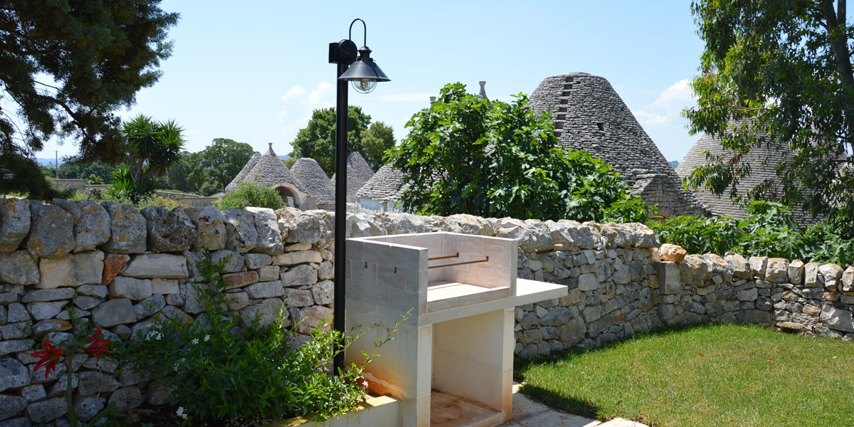 Trullo Mandorla Available BBQ