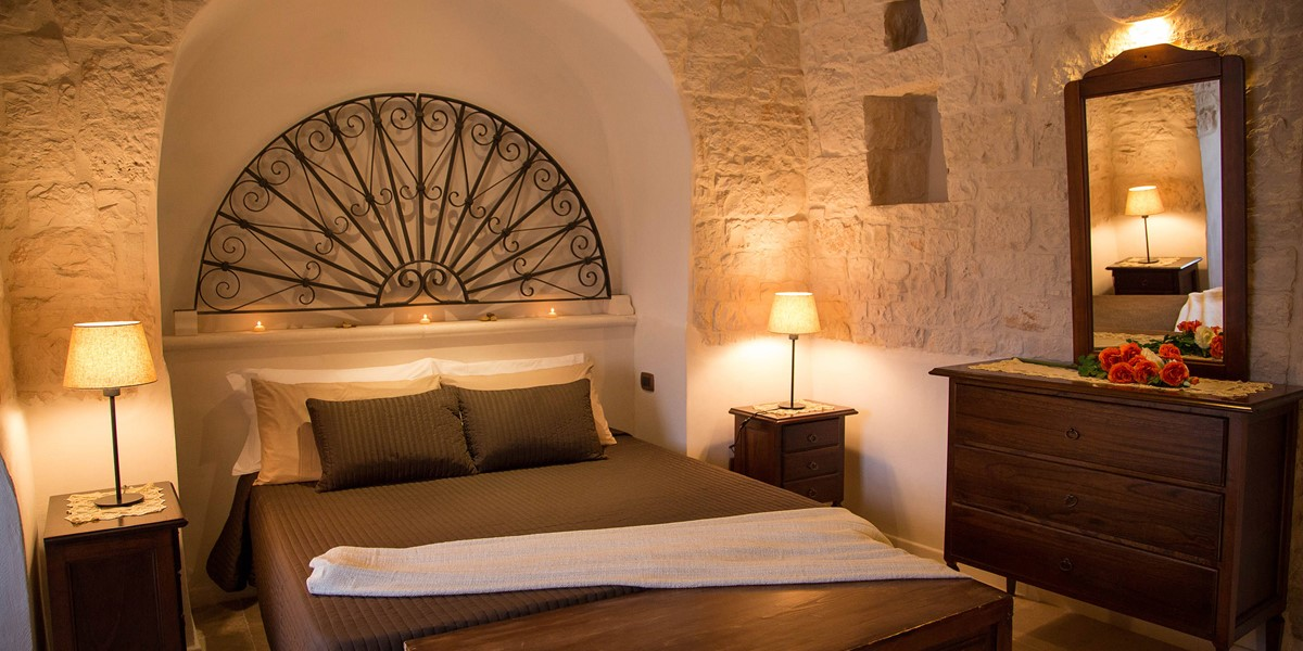 Trullo Ulive Bed 1A