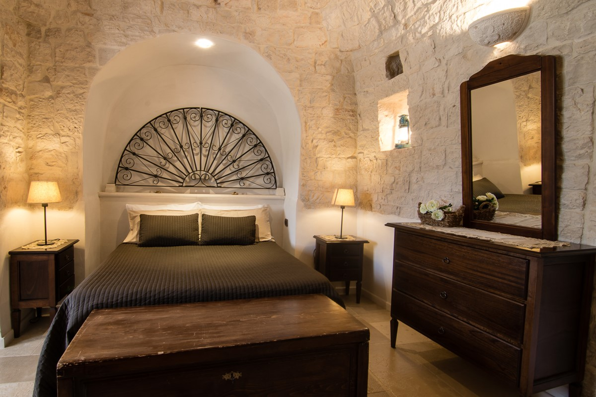 Trullo Ulive Bed 1B