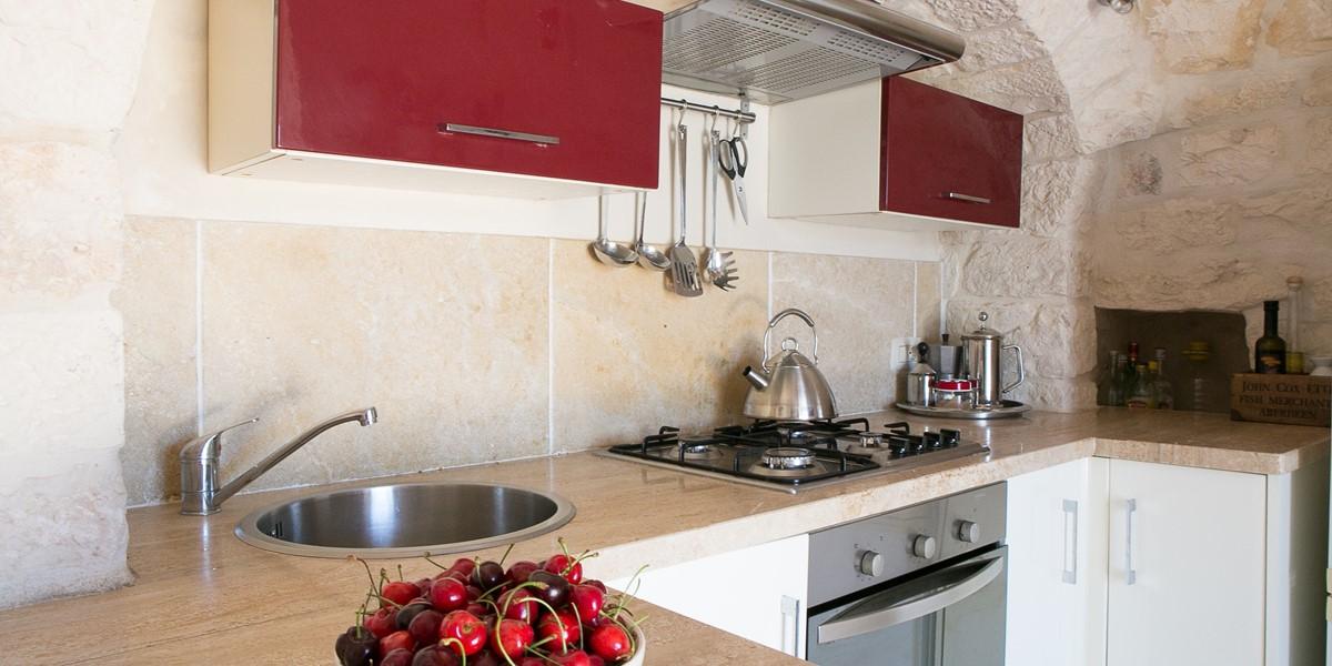 Trullo Lorca Kitchen A