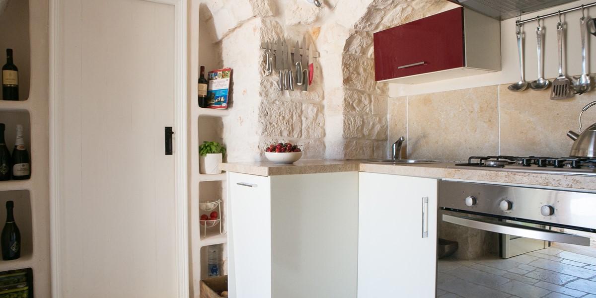 Trullo Lorca Kitchen B