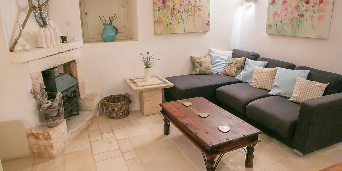 Trullo Lorca Lounge Area