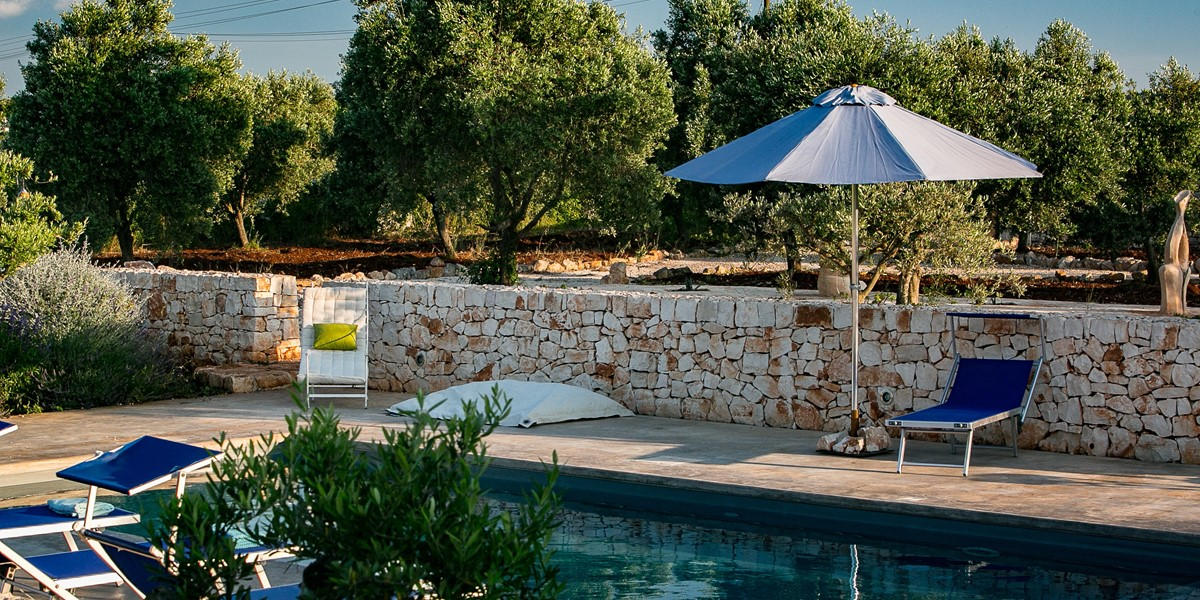 Trullo Lorca Pool Relaxtion