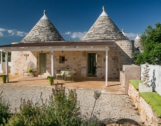 Trullo Lorca with private pool in Puglia