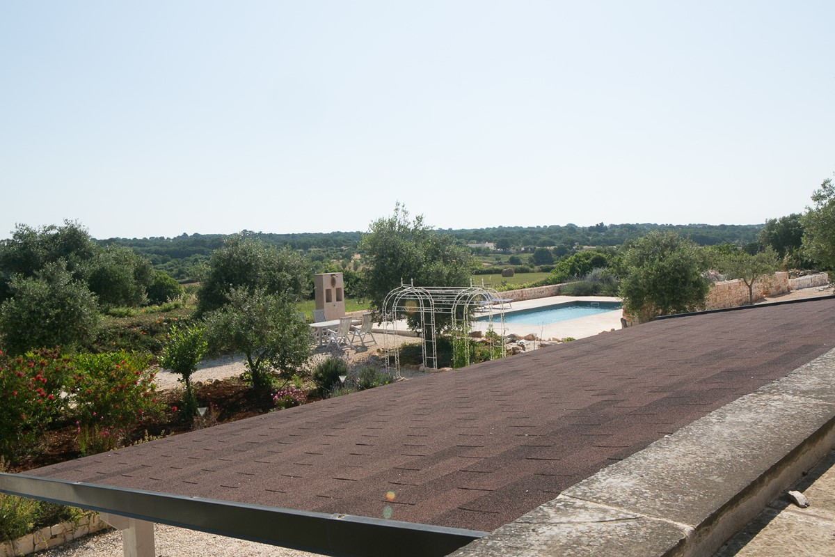 Trullo Lorca View From Roof