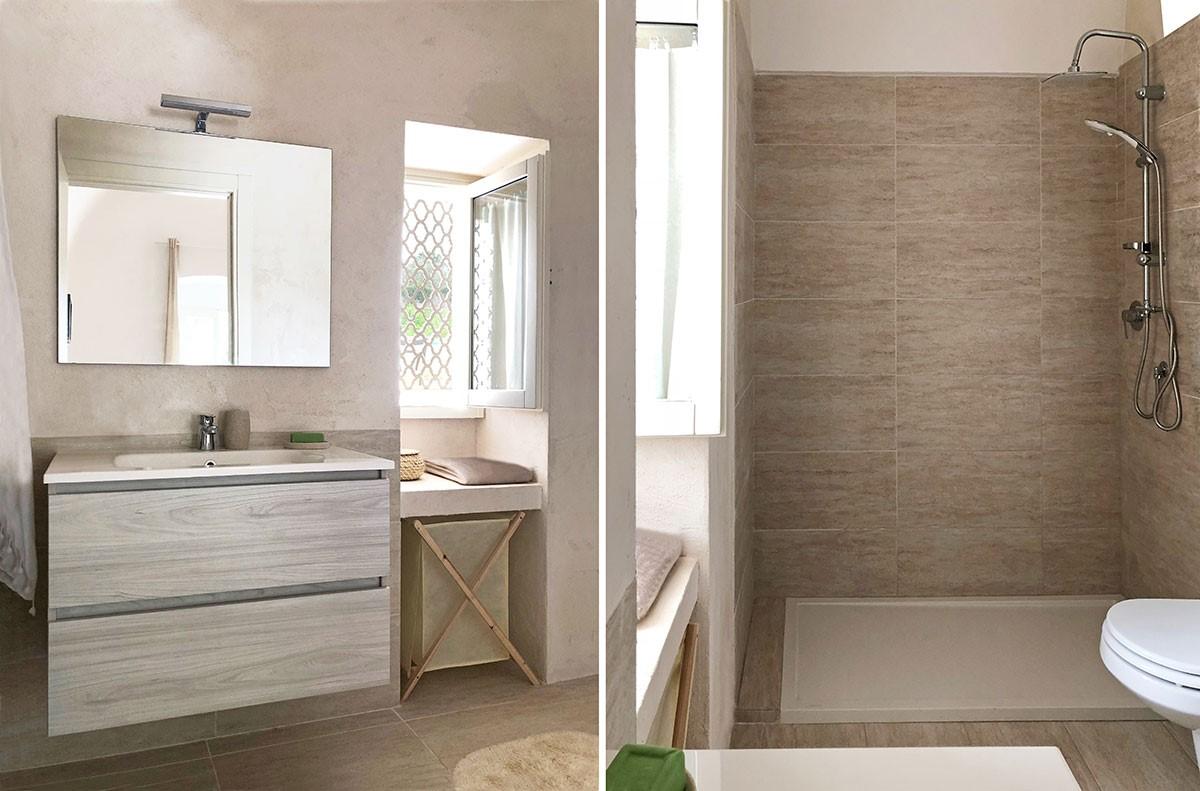 Puglia Holiday Rentals Apt Almond Bath 1