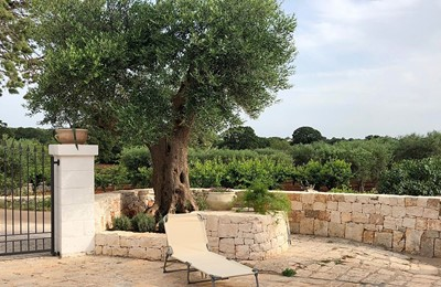 Puglia Holiday Rentals Almond Apt Outside 1