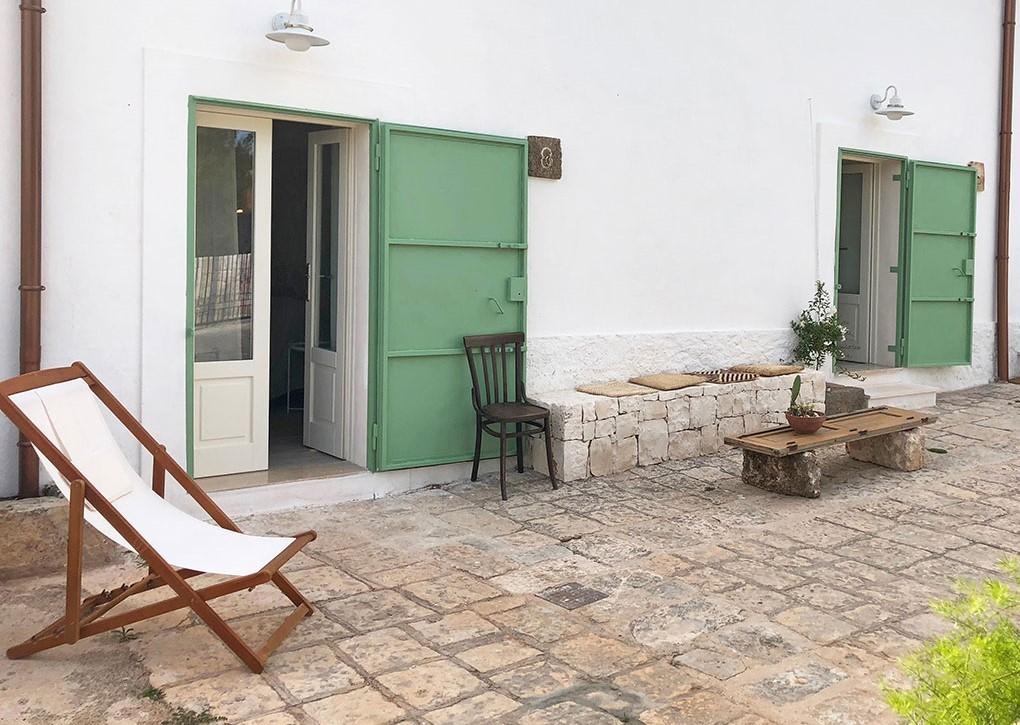Puglia Holiday Rentals Almond Apt Outside 2