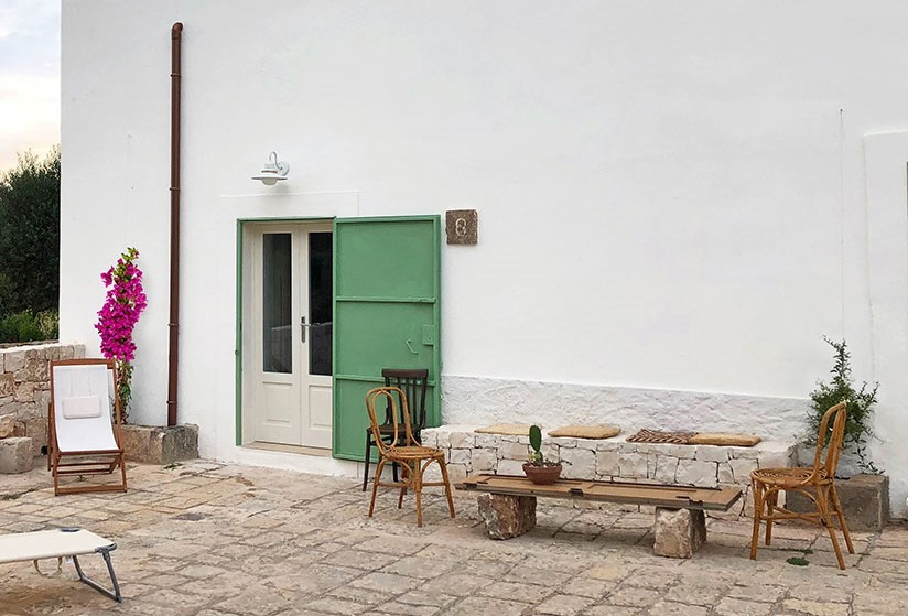 Puglia Holiday Rentals Almond Apt Outside 3
