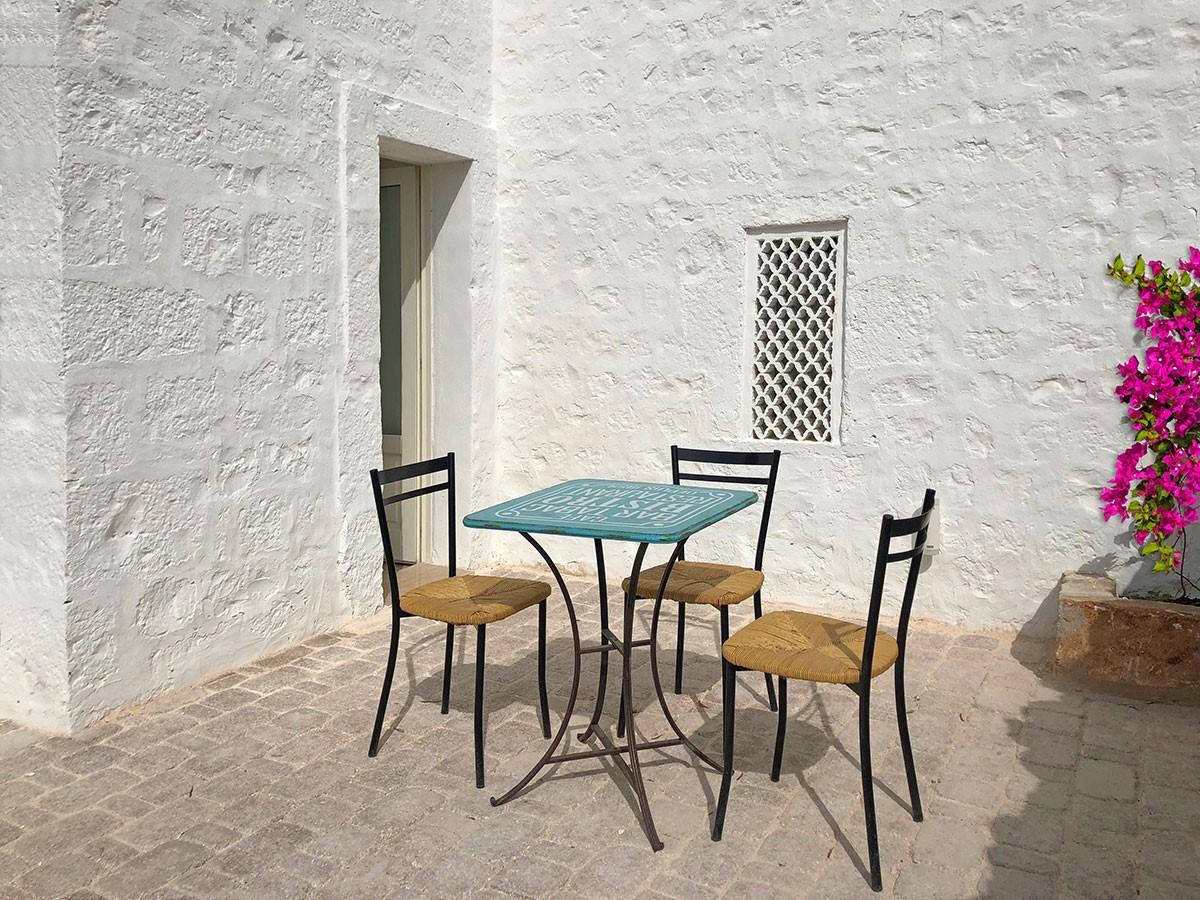 Puglia Holiday Rentals Almond Apt Private Patio