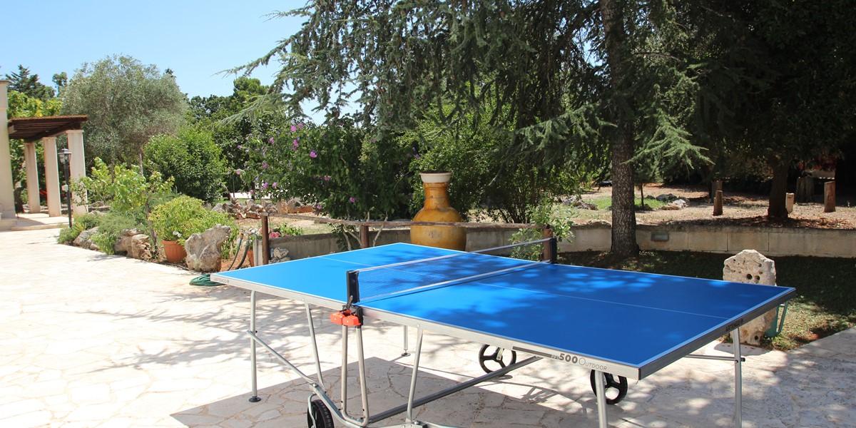 Trullo Sorellina Table Tennis