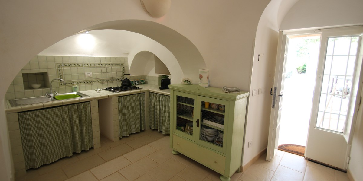 Trullo Sorellina Trullo Kitchen