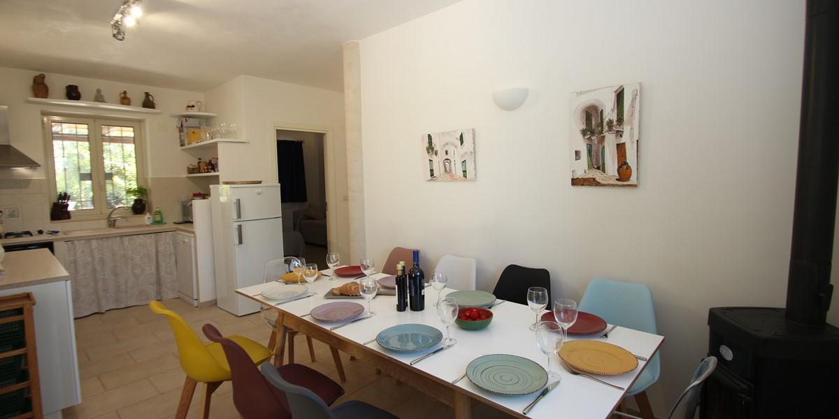 Trullo Sorellina Villa Dining B