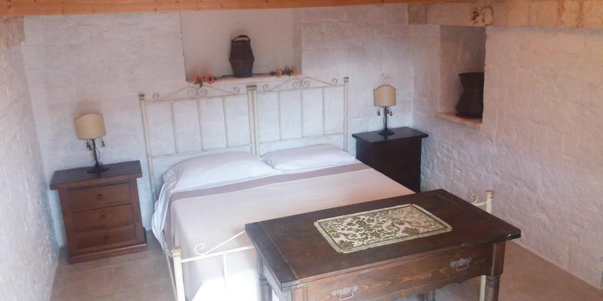 Trullo Mirabello Bed 5