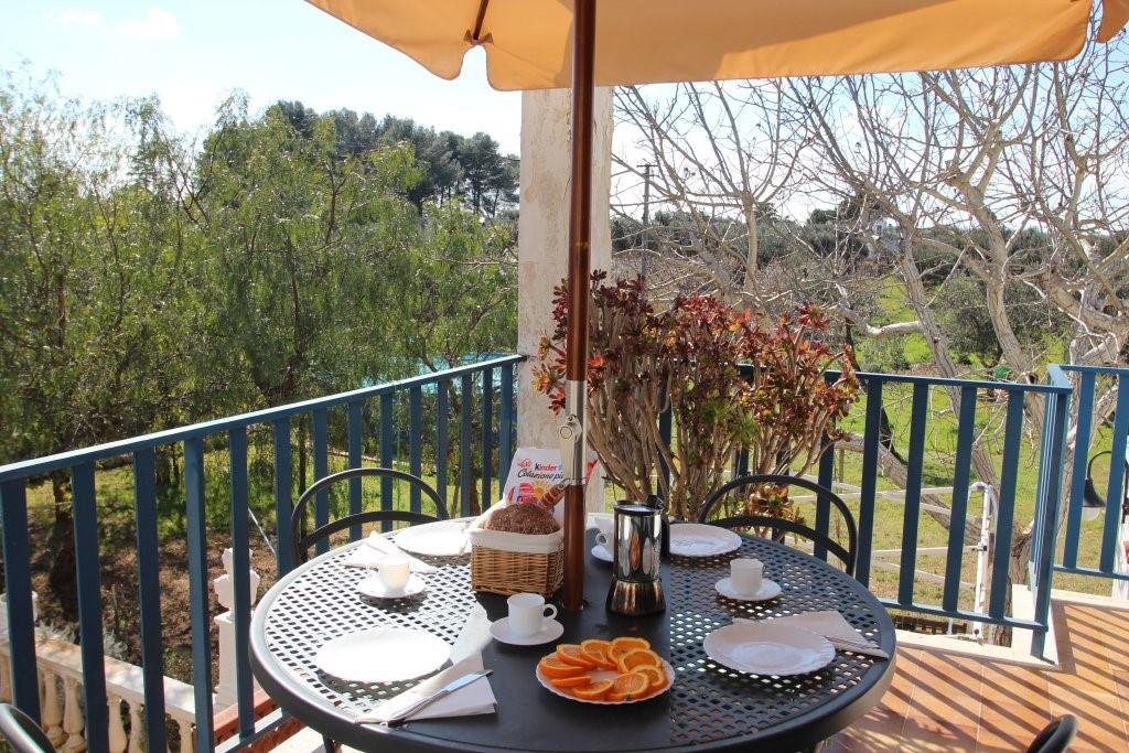 Casa Di Nonna Breakfast Terrace