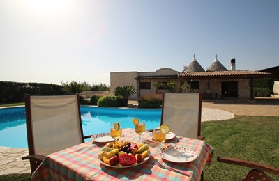 Trullo Melograno With Private Pool