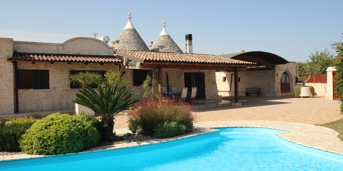Welcome To Trullo Melograno