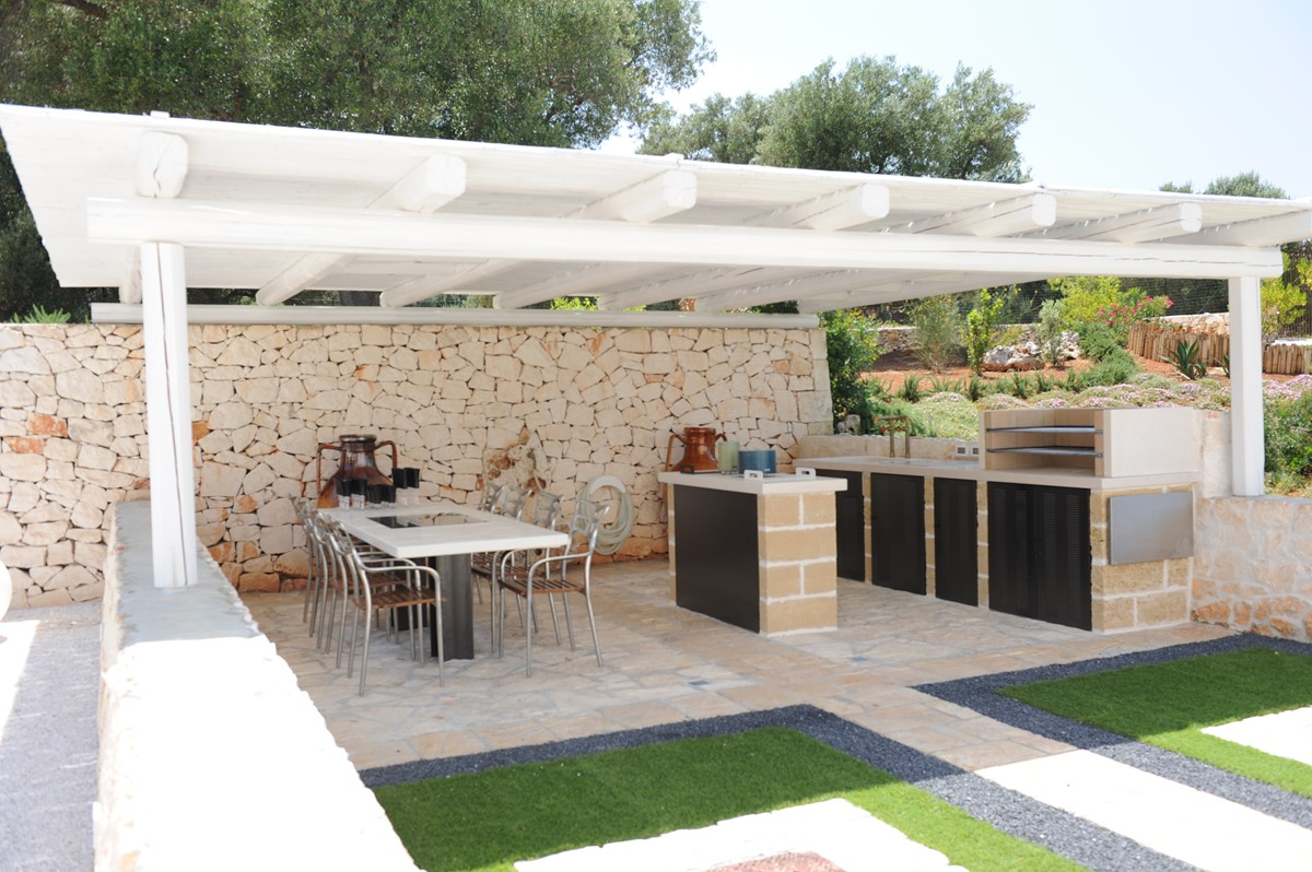 Villa Sverg Outdoor Kitchen