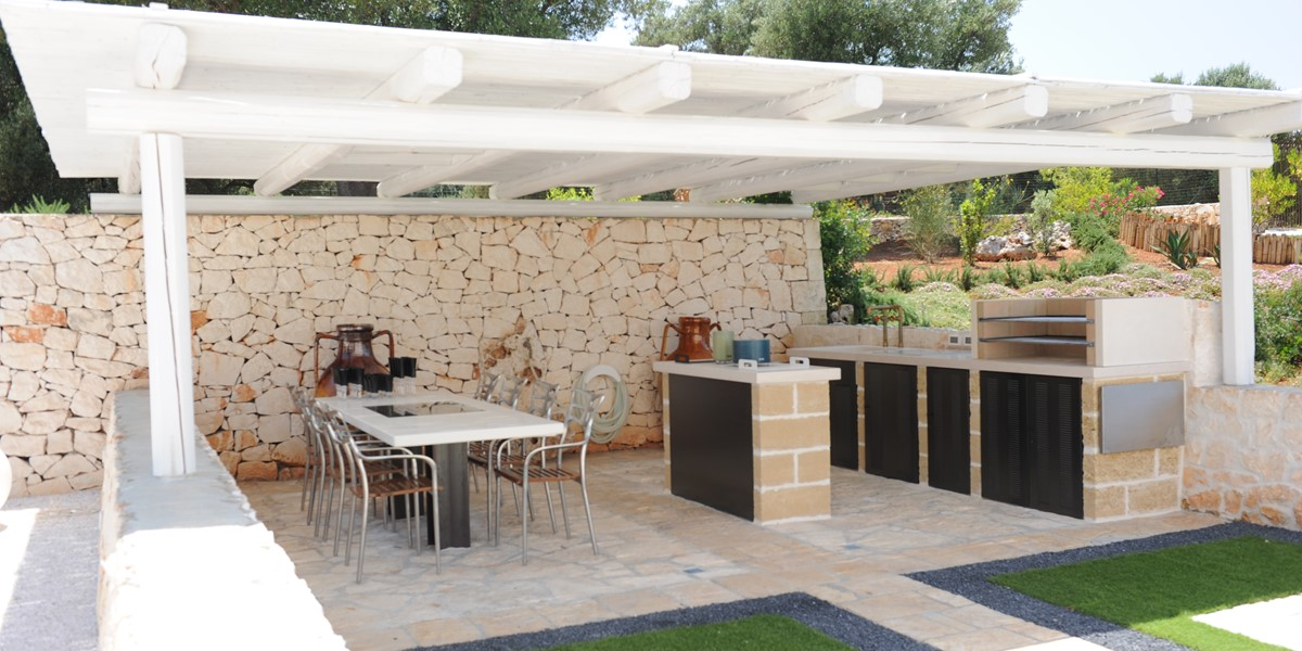 Villa Sverg Outdoor Kitchen