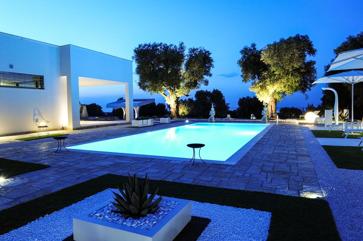 Villa Trullo Sverg As The Night Comes