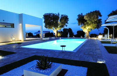 Villa Trullo Sverg As The Night Comes