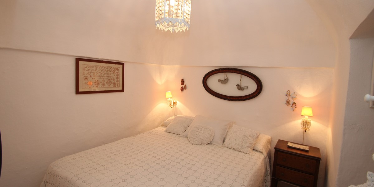 Trullo Formosa Bedroom 1 View 2