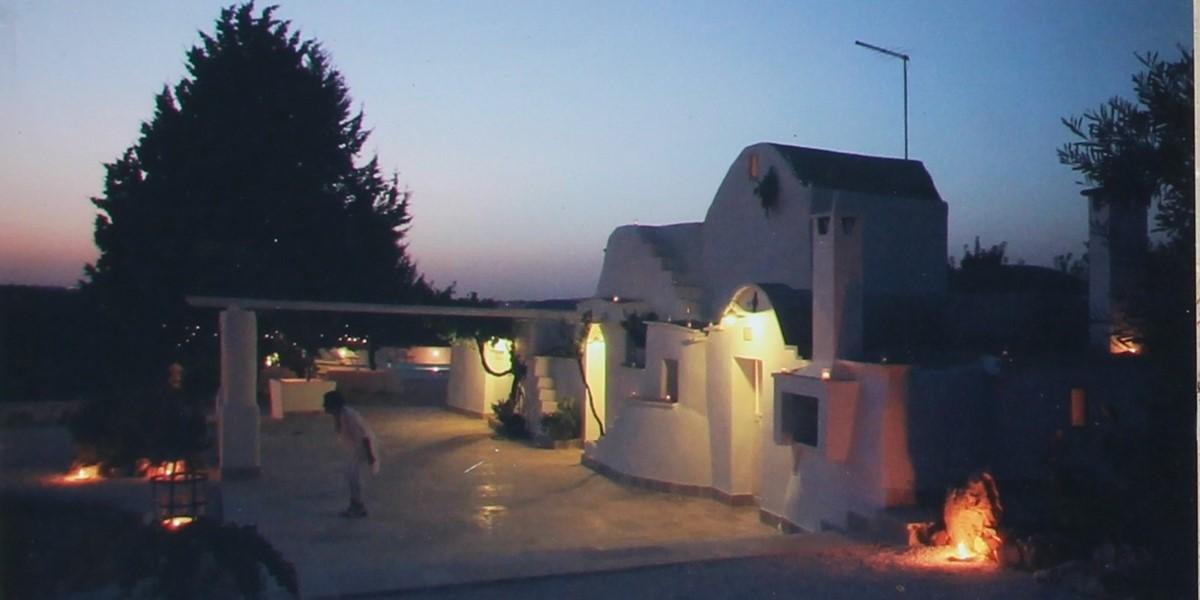 Trullo Formosa View At Night