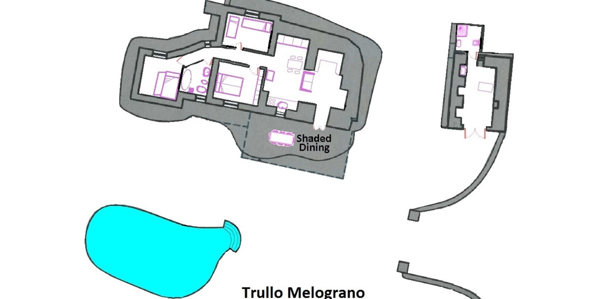 Trullo Melograno Floor Plan
